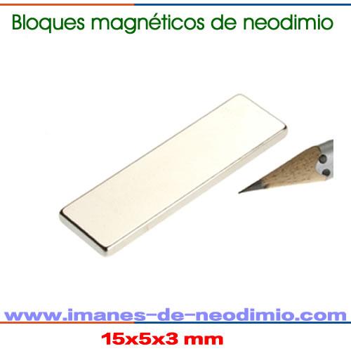 prismas magnéticos de neodimio