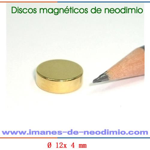 circulares magnéticos de neodimio