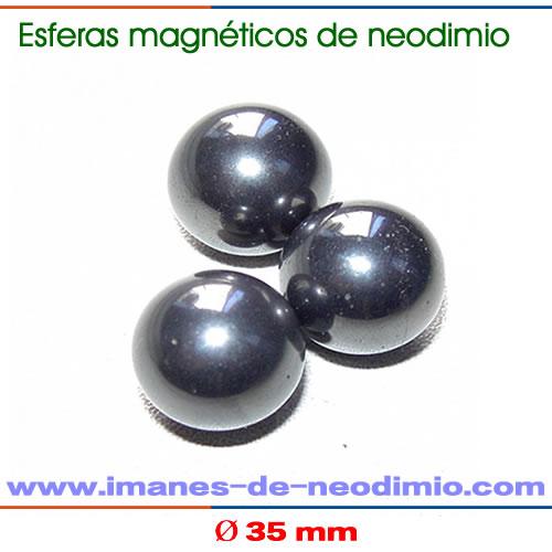 neodimio esferas