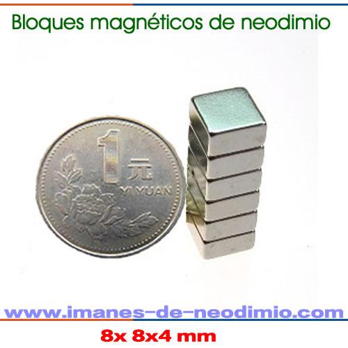 rectangular y bloque superimanes