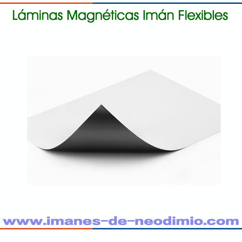 lámina magnética flexible