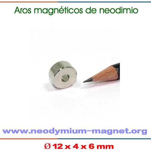 imanes neodimio tubo pequeño permanente