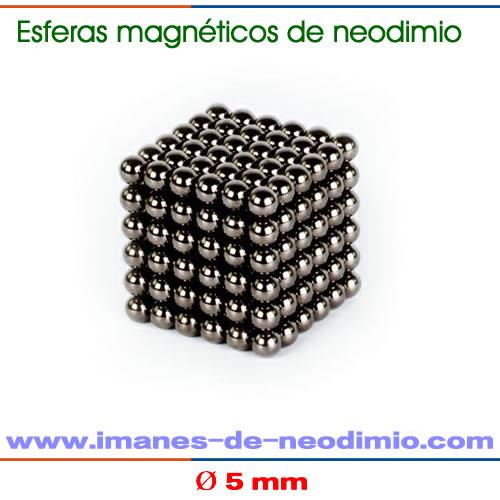 neocube de 5mm de diámetro negro