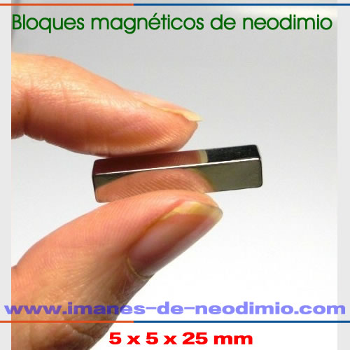 bloques y rectangulars magnético