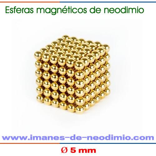 neocube de 216 bolas dorado