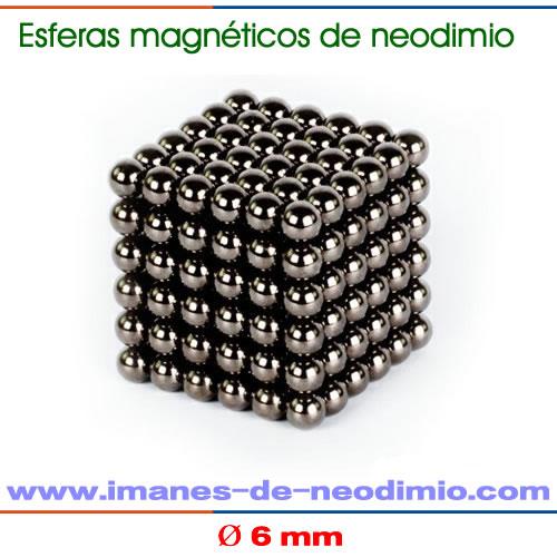 neocube de 6mm de diámetro negro
