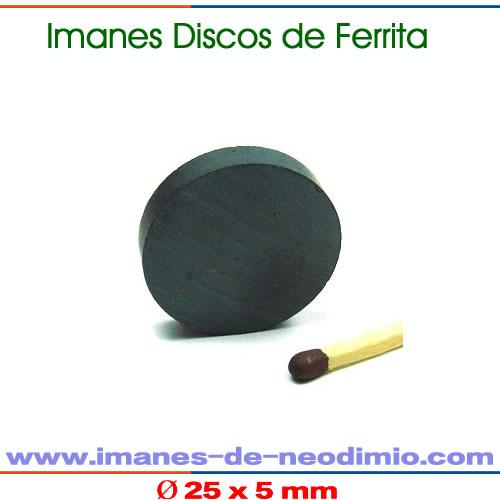 ferrita discos magnético cerámico