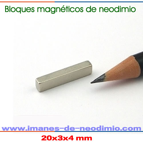 neodimio-hierro-boro prisma imanes