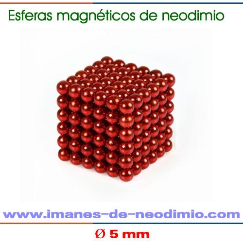 5mm neocube rojo