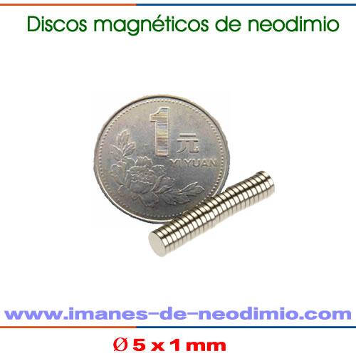 disco iman de tierras raras N42M