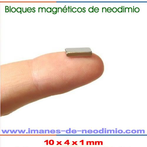 rectangulars magnéticos de neodimio