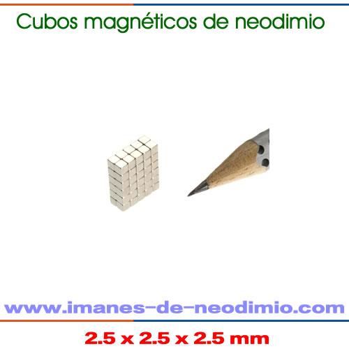 sinterizado NdFeB cubo imanes