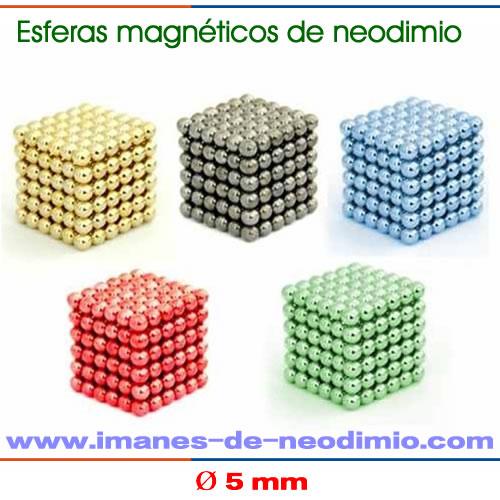 216 bolas de imán de neodimio esfera