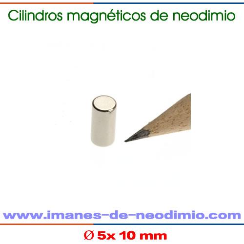 imanes de cilíndrico y barra