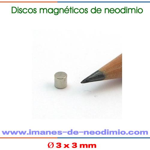 iman de neodimio discos axial N45