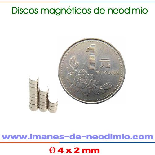 N50 imanes neodimio disco níquel
