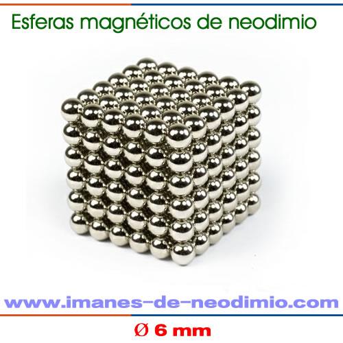 neocube esferas magnéticas niquelado