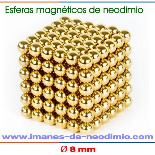 neocube 216 esferas iman neodimio 10mm