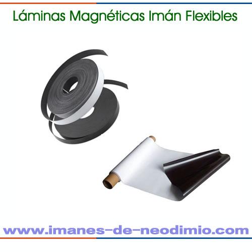 PVC laminado magnéticos flexibles