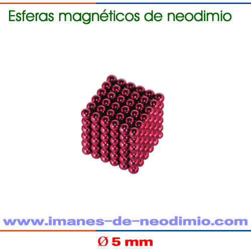 neocube rojo de 216 bolas