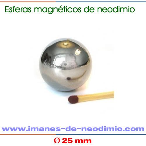 esfera larga imanes