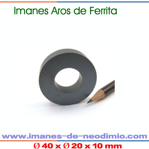 aros magnéticos de ferrita