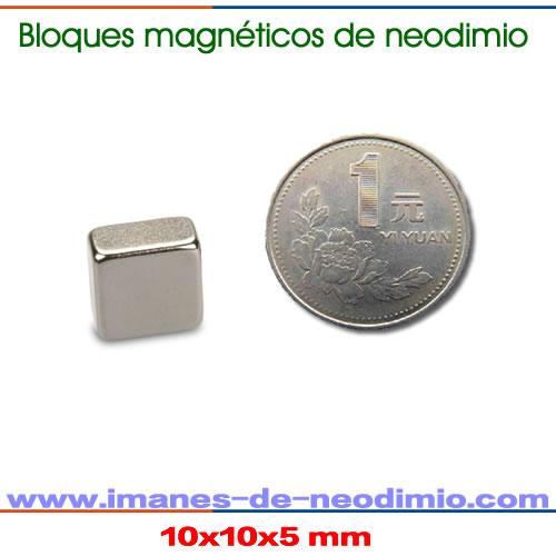 neodimio bloques y rectangulars