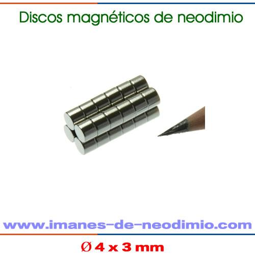 N48 neodimio imanes del disco