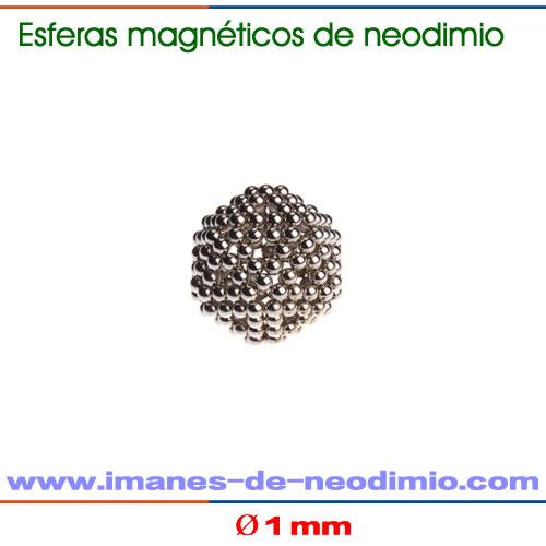 esferas magnéticos de neodimio