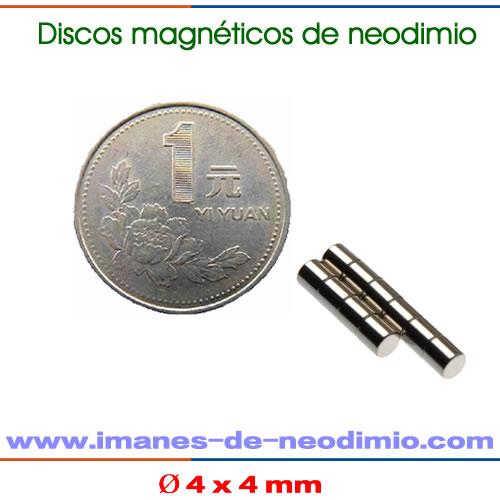 N45 imán disco de neodimio