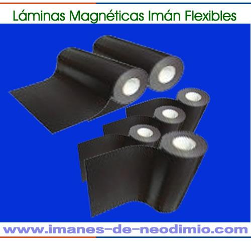 flexibles hojas laminadas magnética rollo