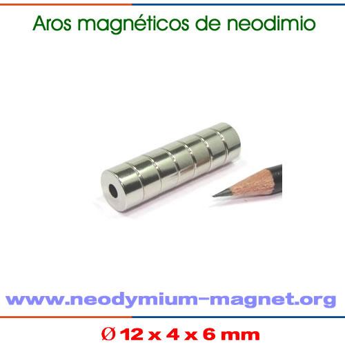 anillo magnéticos de neodimio tierras raras