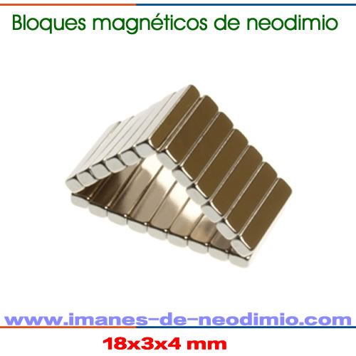 bloques magnético
