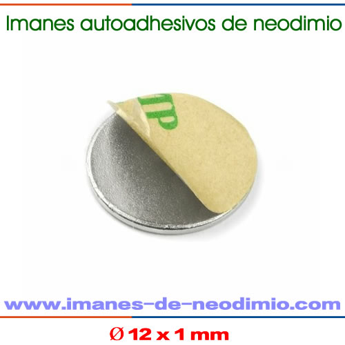 neodimio-hierro-boro autoadhesivo imanes