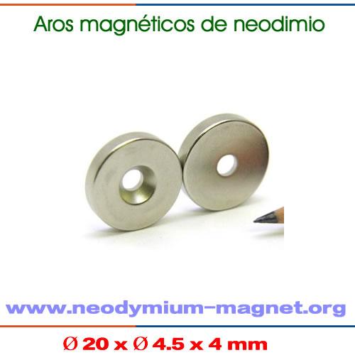 varas magnéticos de neodimio