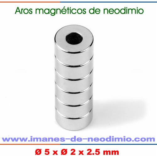 tubos magnético