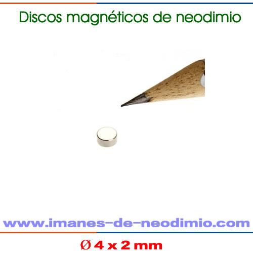 imanes neodimio disco níquel N50