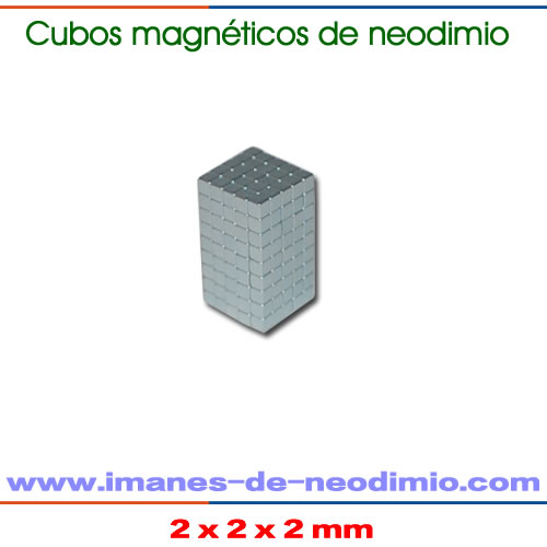 cubo magnéticos de neodimio