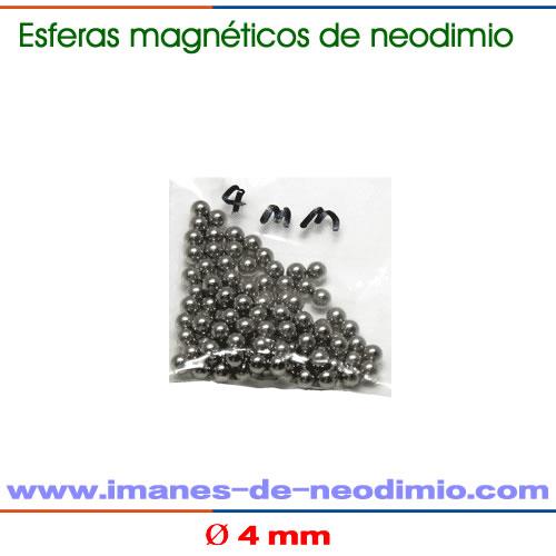 esferas magnético de 4mm de diámetro