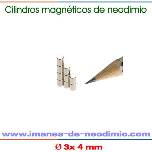 barras magnéticos de neodimio