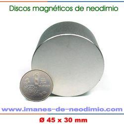 redondos magnéticos de neodimio