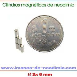 N50 neodimio barra magnetización radial