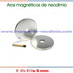 anillo larga magnético