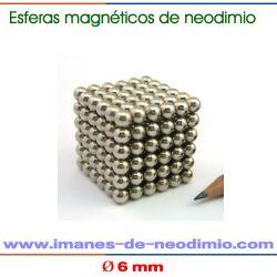 cubo de 216 bolas NdFeB esfera