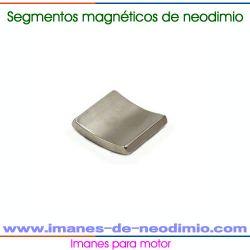 imanes neodimio forma de segmento para motor