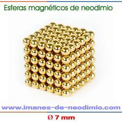 esfera magnéticos de neodimio neocube