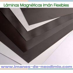 hoja magnética de goma flexible