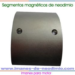 imán de neodimio segmentos motores