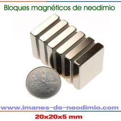 neodimio bloque níquel