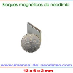 rectangulars magnéticos de tierra rara